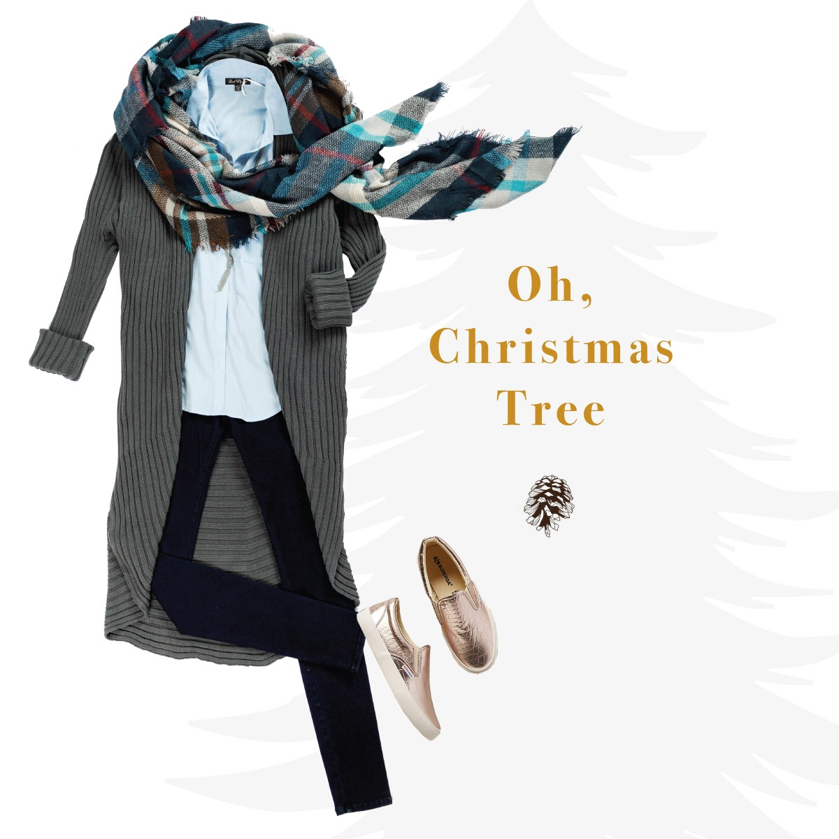 Outfit for casual holiday errands
