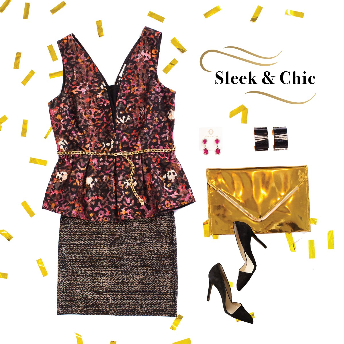 Sleek & Chic NYE outfit