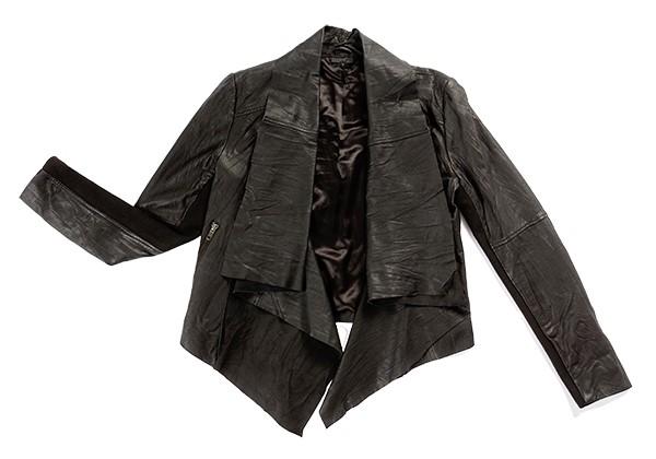 Getting Back to Square One black leather jacket basics
