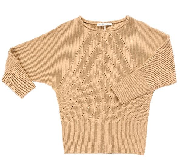 Trina Turk camel sweater basics