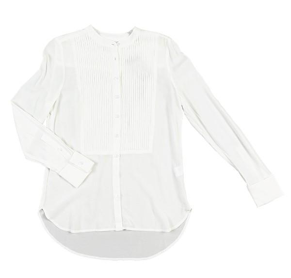 Trina Turk crisp white button down shirt