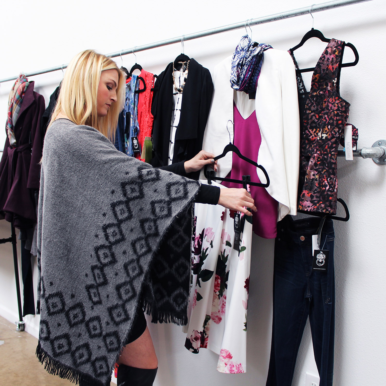 Front Door Fashion Stylist, Morgan styling outfits