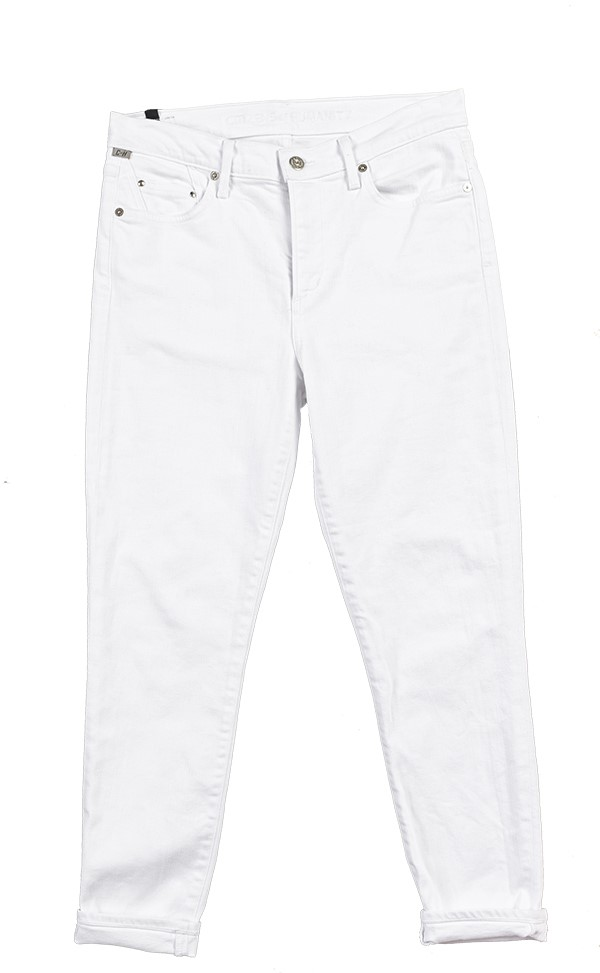 Citizens of Humanity white skinny jeans basics