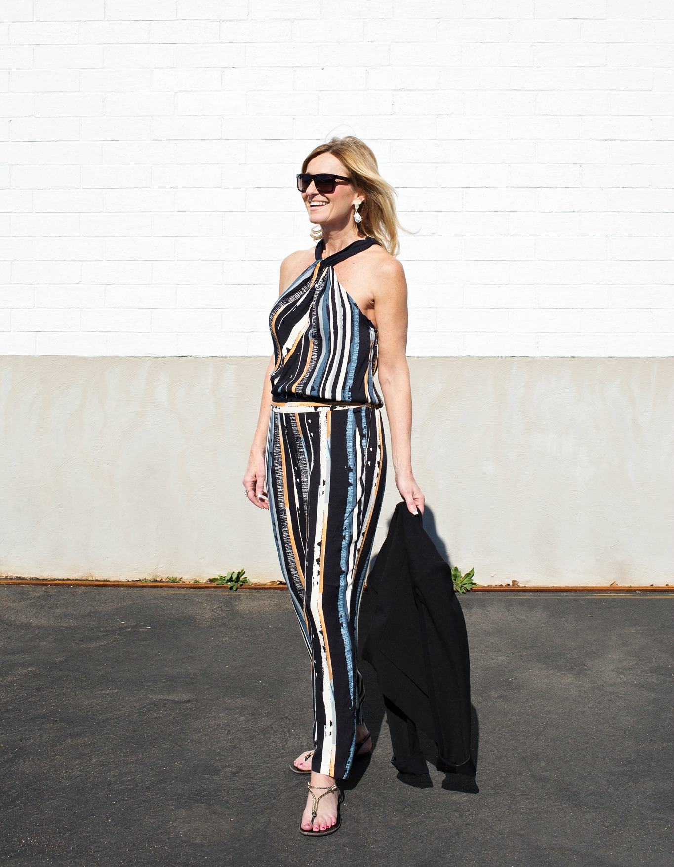 Weekend outfit, jumpsuit, casual work