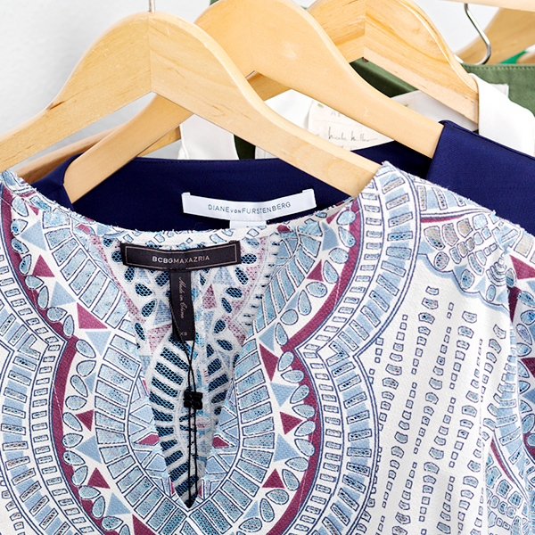 We carry more than 200 designer brands, including Trina Turk, Kendra Scott, BCBG, AG Jeans, Nicole Miller, Michael Stars and more.