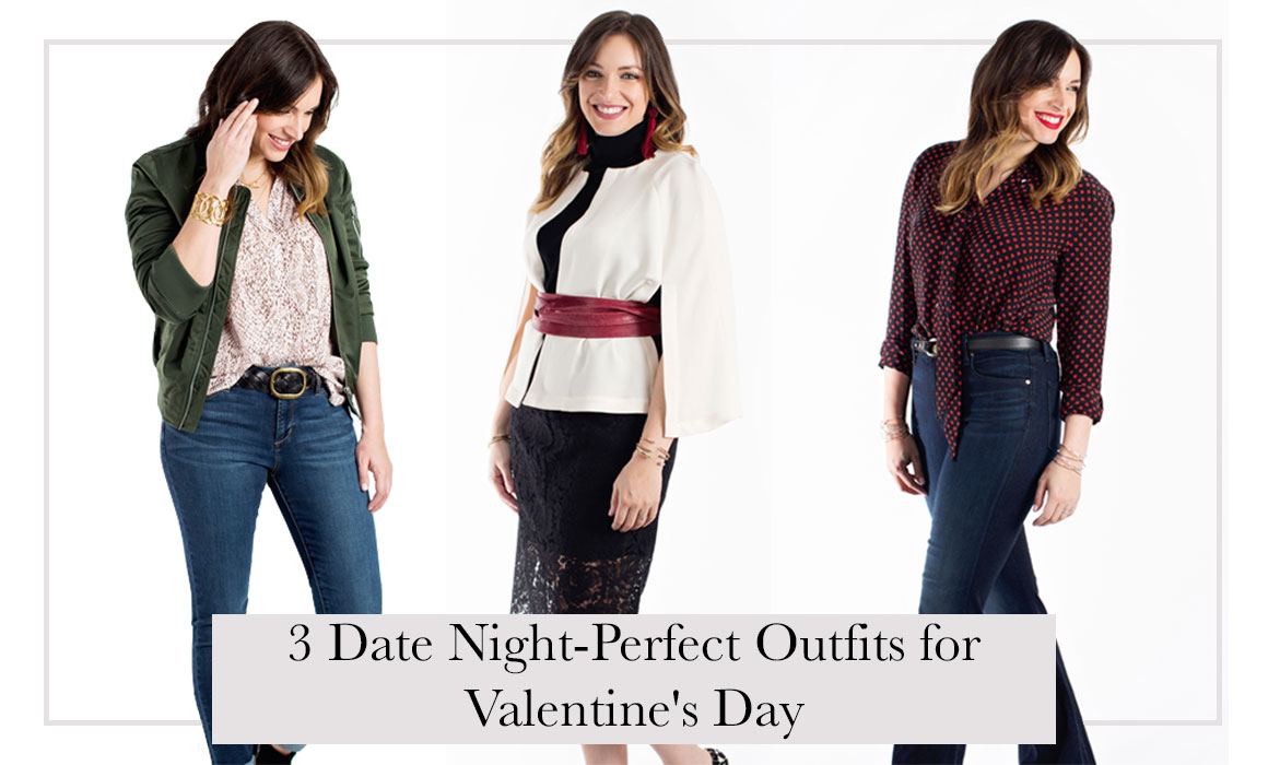 Outfits of Affection: 3 Date Night-Perfect Outfits for Valentine's Day