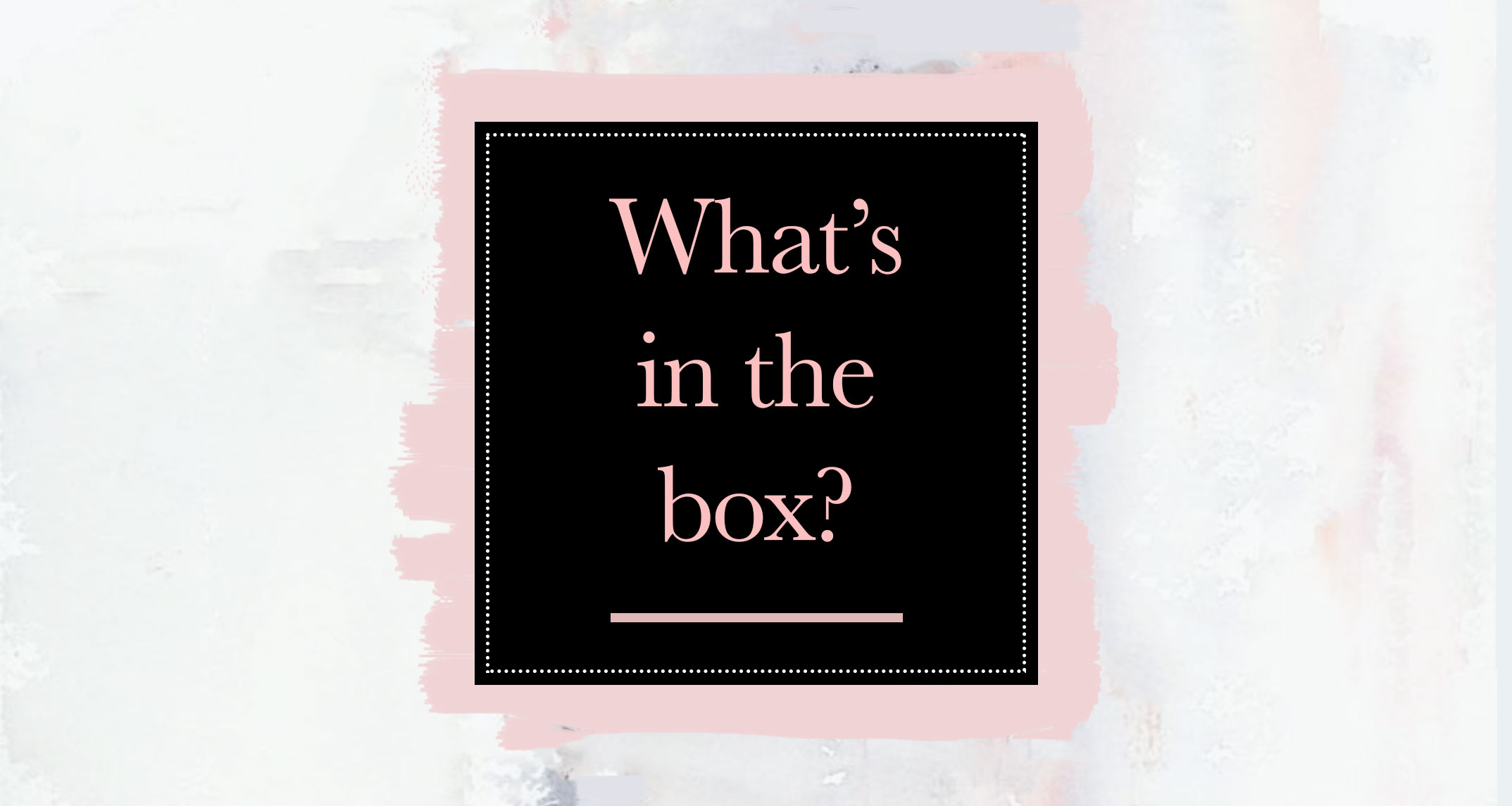 What's In the Box: Polished Outfits for the Busy, Professional Mom