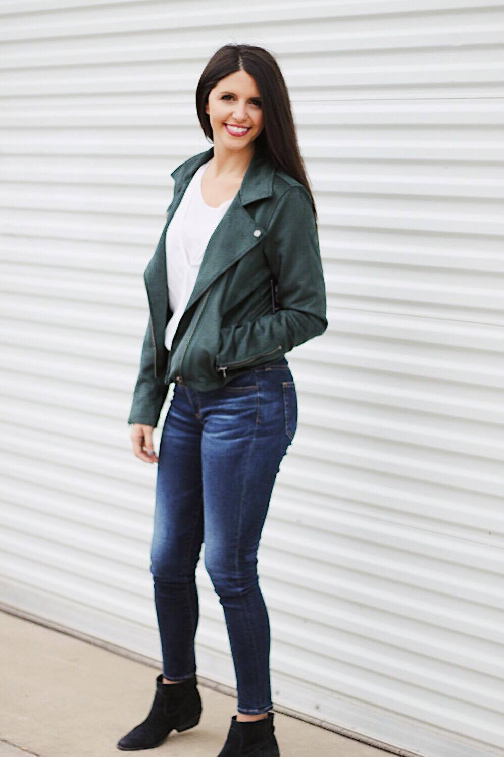 Must Have Jackets Suede Moto