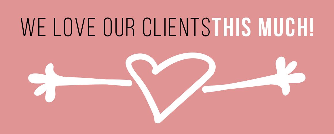 Our styling service loves our clients.