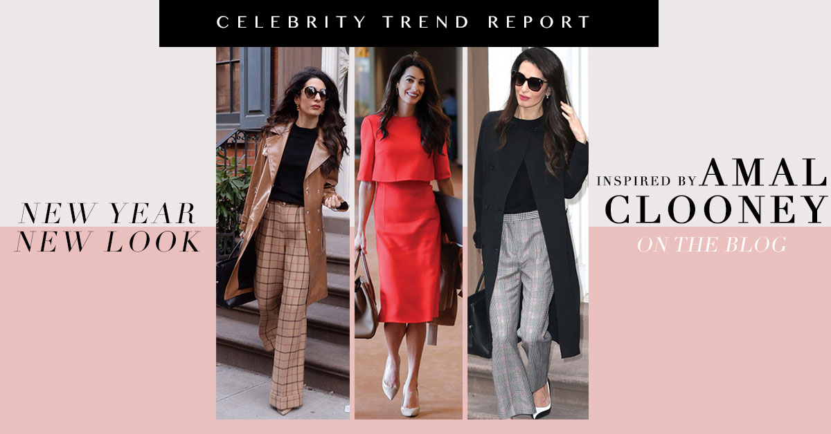 2019 Trends According To Amal Clooney