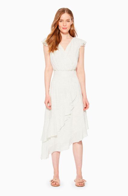 Parker dress on a model.