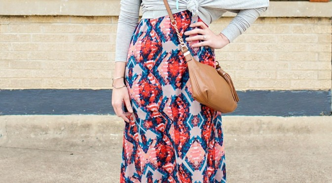 Style Tip: How to Wear Your Maxi Dress in Cold Weather