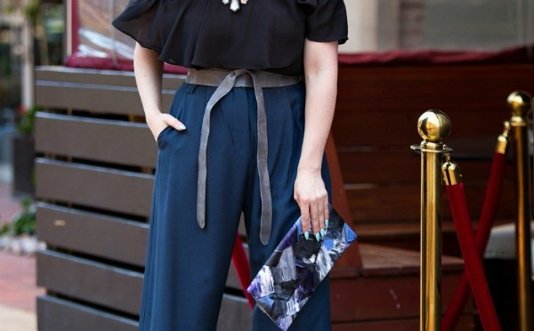 Style Tip: How to Wear Wide Leg Pants
