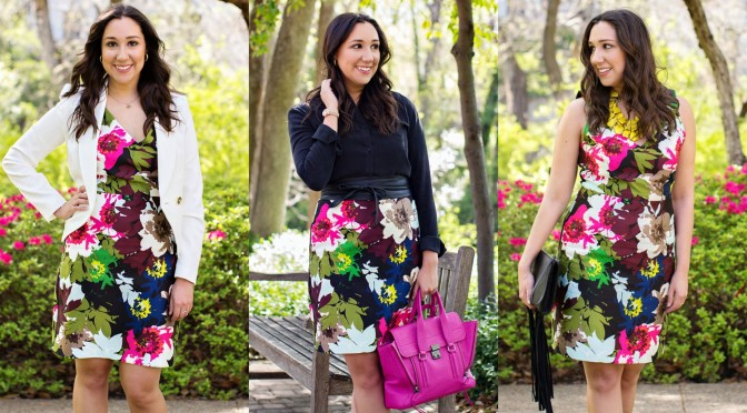Style Tip: One Dress, Three Looks