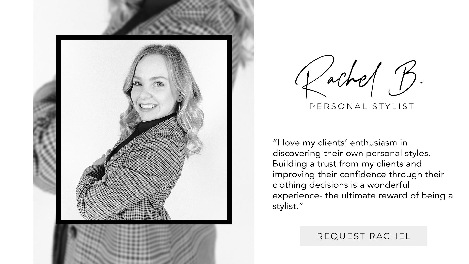 Stylist Rachel B