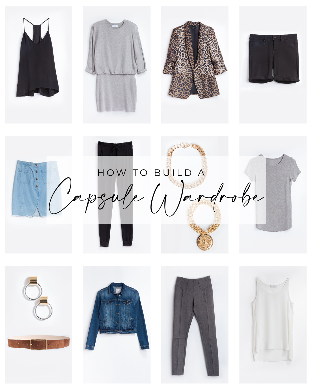 New Year New You: Building A Capsule Wardrobe