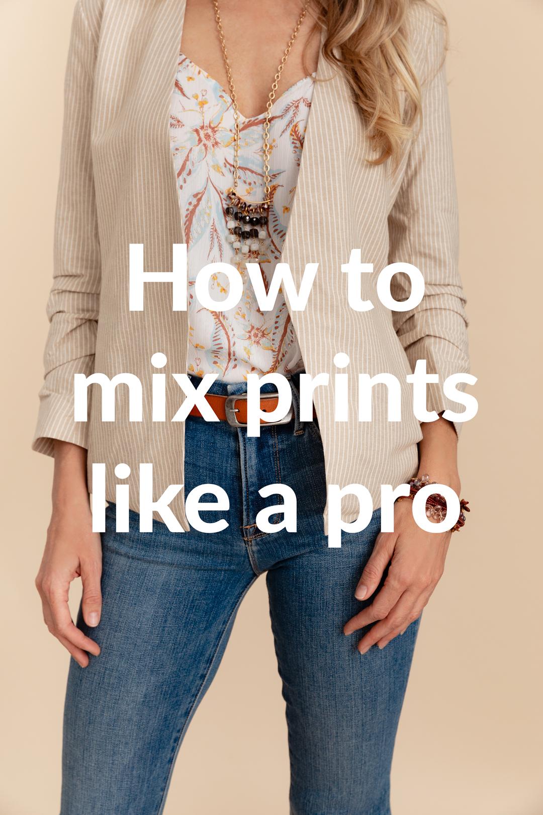 Pro Stylist Tip: 3 Ways to Mix Prints